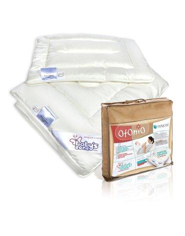 Babys Zone - Kołderka z poduszką dla dziecka 135x100 TENCEL