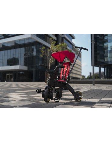 Składany rowerek trójkołowy Doona LIKI S3  5w1 - czerwony