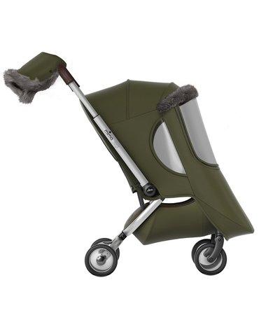 Mima Zigi - Bo - Ovi - Akcesoria zimowe do wózka mima Zigi - Olive Green