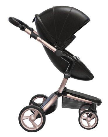 Mima Zigi - Bo - Ovi - Wózek Mima Xari 2w1 - stelaż 4G rose gold / zestaw startowy Black