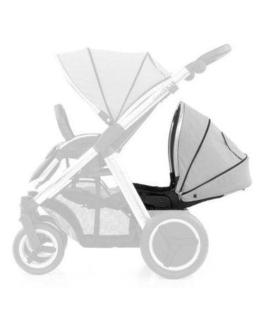 Zestaw kolorystyczny do dodatkowego siedziska wózka Oyster Max - szary
