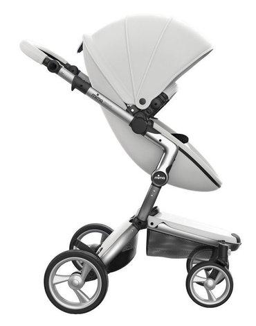 Mima Zigi - Bo - Ovi - Wózek Mima Xari 2w1 - stelaż 4G aluminium / zestaw startowy Snow White