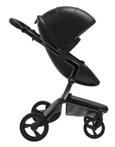Mima Zigi - Bo - Ovi - Wózek Mima Xari 2w1 - stelaż 4G black / zestaw startowy Black