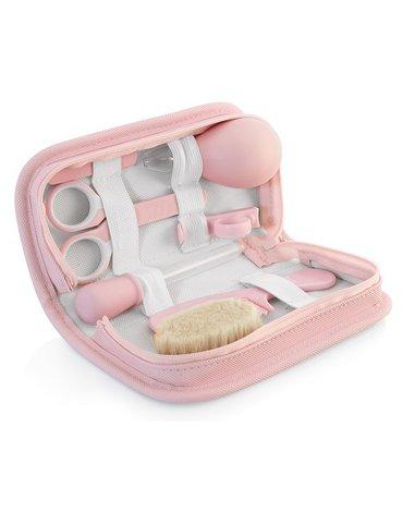 Miniland - Zestaw do pielęgnacji dziecka Azure-Rose (7 produktów) - różowy