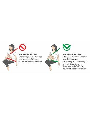 BeSafe akcesoria - Adapter BeSafe iZi fix do pasów bezpieczeństwa dla kobiet w ciąży
