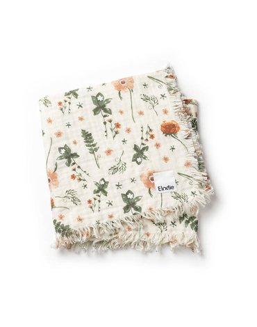 Elodie Details - Kocyk bawełniany - Meadow Blossom