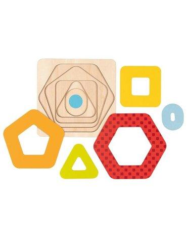 Goki - Puzzle geometryczne warstwowe