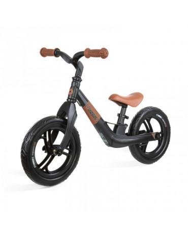Czarno-brązowy rowerek biegowy Movino Magnesium Pro
