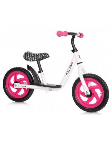 Rowerek biegowy Movino Spark – różowy