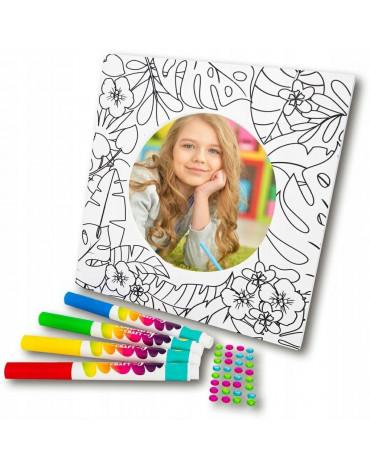 Toys Inn - Ramka MDF do kolorowania koło