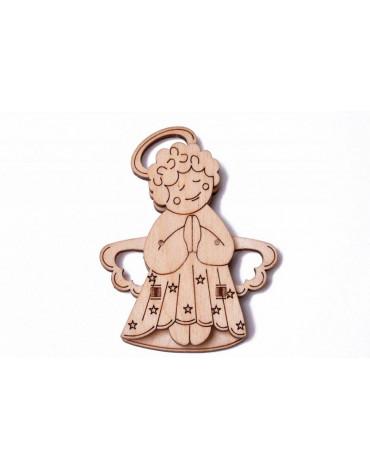 Wood Trick - Puzzle mechaniczne aniołek