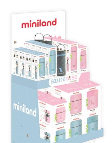 Stojak Miniland Azure na termosy i pojemniki 41x166x48cm