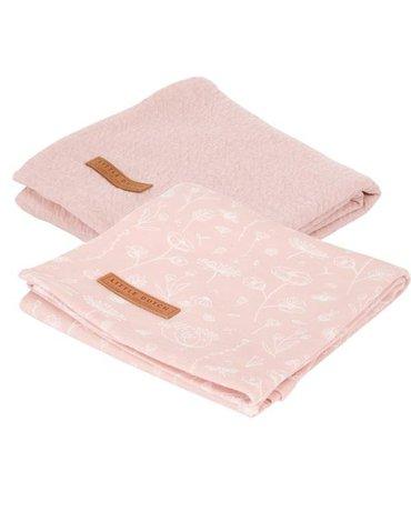 Little Dutch Otulacze 70 x 70cm (2 szt.) Wild Flowers pink TE50321050