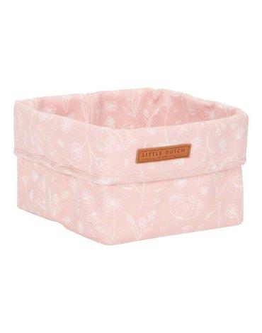 Little Dutch Pojemnik na akcesoria mniejszy Wild Flowers Pink TE30421050