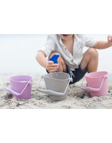Funkit world - Składane wiaderko do wody i piasku Scrunch Bucket - Musztardowy