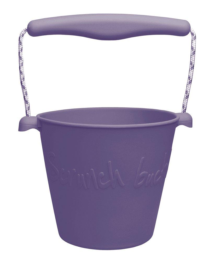 Funkit world - Składane wiaderko do wody i piasku Scrunch Bucket - Purpurowy