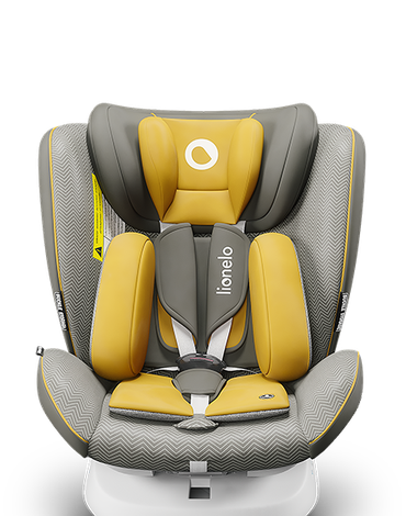 Lionelo Fotelik samochodowy Bastiaan One Yellow Mustard