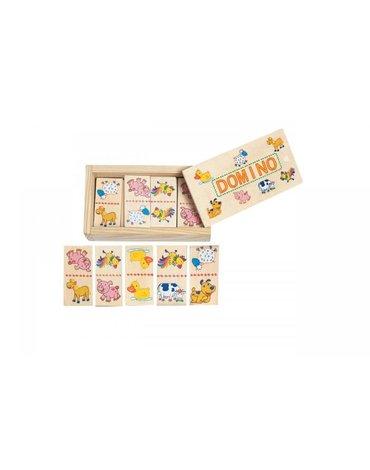 Woody - Mini Domino w pudełko - Zwierzątka