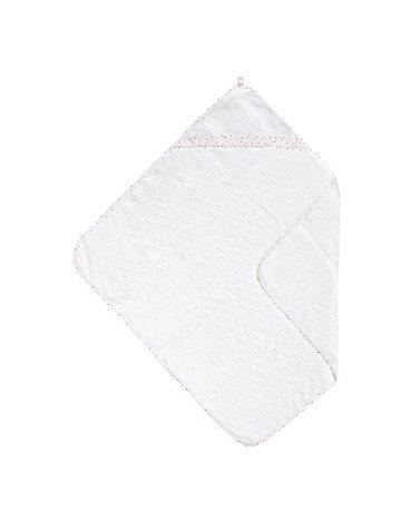 Bebe-Jou - bébé-jou Ręcznik z kapturkiem Hearts 3010061