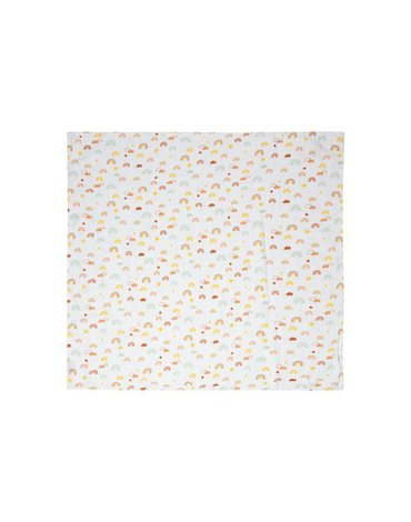Bebe-Jou - bébé-jou Otulacze bambusowo-muślinowe 70 x 70 cm (3 szt.) Rainbow Sky 305103