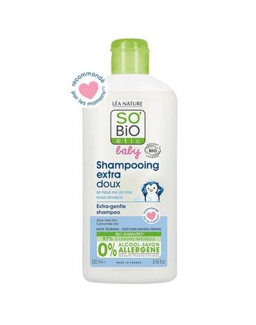 So Bio etic - SO BIO, Ultra delikatny szampon micelarny dla niemowląt i dzieci, 250 ml