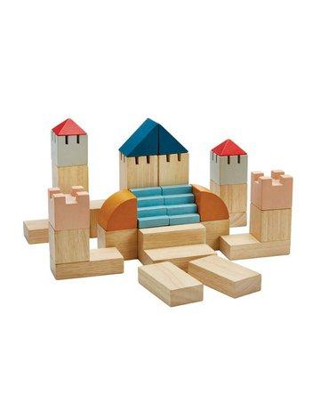 Plan Toys - Klocki kreatywne - barwy sadu