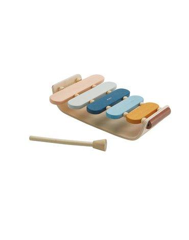 Plan Toys - Ksylofon - barwy sadu