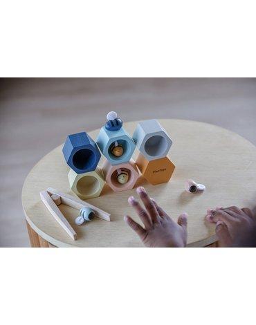 Plan Toys - Plaster miodu z pszczółkami - barwy sadu
