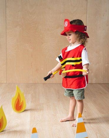 Plan Toys - Zestaw Strażaka