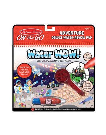 Melissa&Doug® - Melissa, Wodna Kolorowanka Water Wow! Deluxe, Przygody