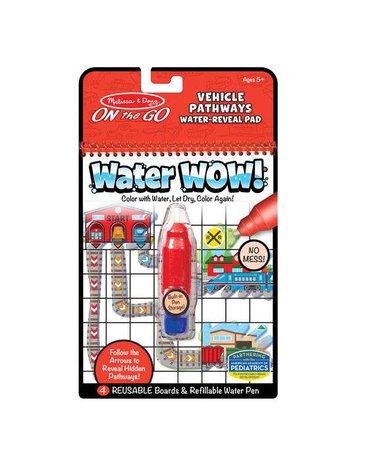 Melissa&Doug® - Melissa, Wodna Kolorowanka Water Wow! Pathways, Pojazdy