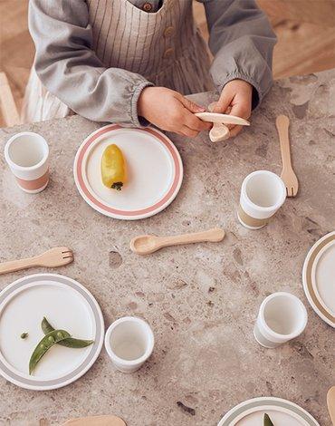 Kids Concept Bistro Zestaw Naczyń Dinner