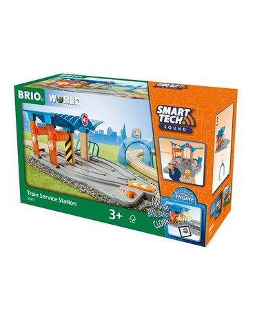 BRIO Smart Tech Stacja Serwisowa Pociągów