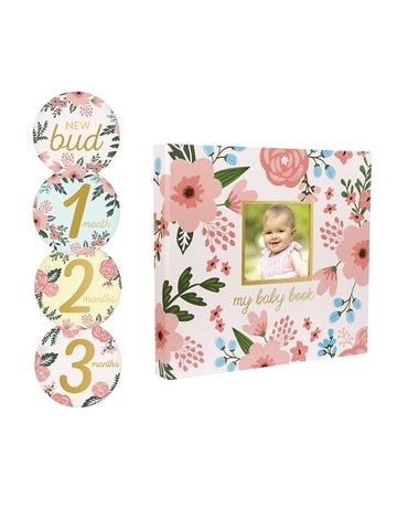 Pearhead Album Dziecka od Narodzin Floral
