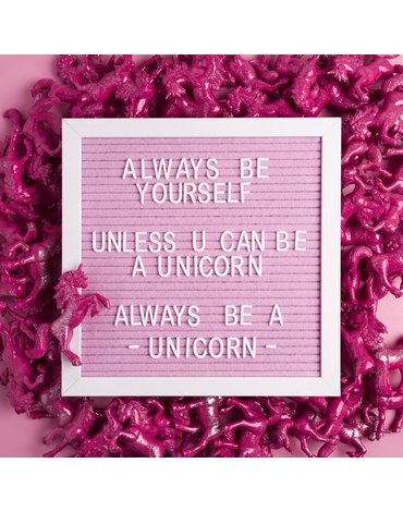 Pearhead Tablica z Literkami Pink