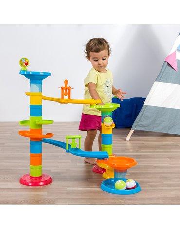 Miniland - zabawki edukacyjne - Zjeżdżalnia, tor piłeczkowy
