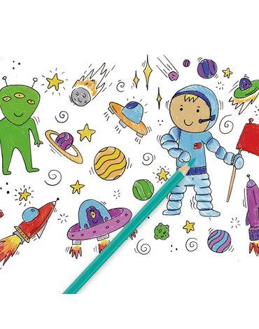 Kredki ołówkowe w tubie Apli Kids - 24 kolory