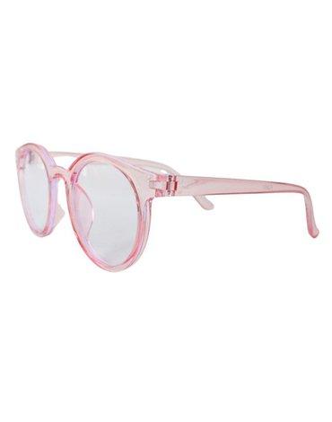 Okulary przeciwsłoneczne Elle Porte Blue Light - Pink 3-12 lat