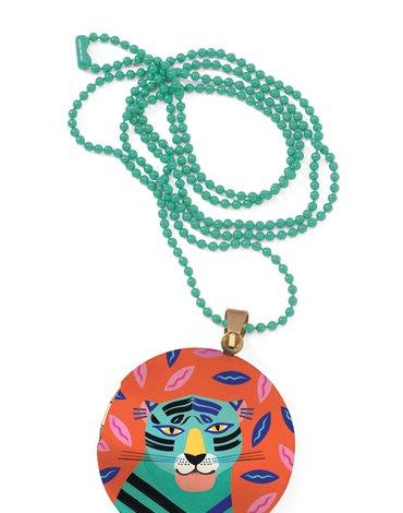 Djeco - Kolorowy naszyjnik - medalion TYGRYS DD3842
