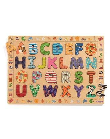 Djeco - Drewniany alfabet ABC (French only) DJ01800