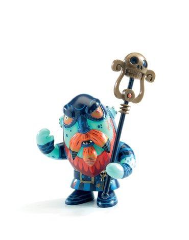 Djeco - Figurka pirata Gnomus & Ze cage DJ06820