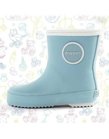 Kalosze NEWBORN BOOT Druppies pastel blue23