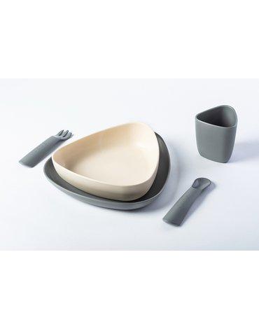 eKoala Zestaw Obiadowy Stone BIOplastik
