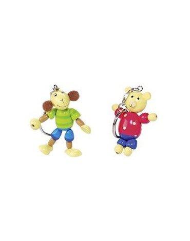 Goki - Breloczki do kluczy dla dzieci