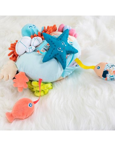 Miniland - zabawki edukacyjne - Zabawka sensoryczna rafa kolarowa