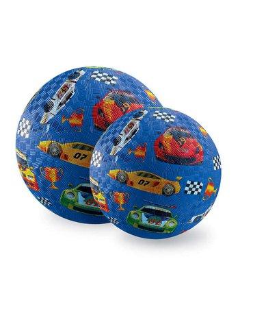 Crocodile Creek® - Piłka 18 cm, wyścigi samochodowe, CC