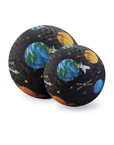 Crocodile Creek® - Piłka 13 cm, wyprawa kosmiczna, CC