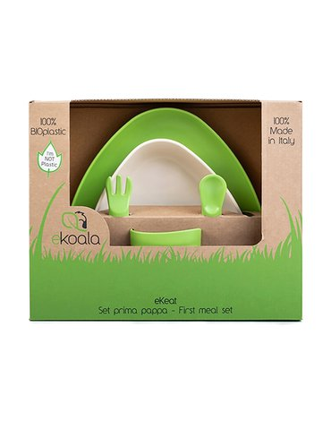 eKoala Zestaw Obiadowy Green BIOplastik
