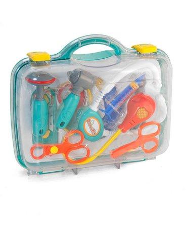 Miniland - zabawki edukacyjne - Zabawkowy zestaw małego lekarza w walizce
