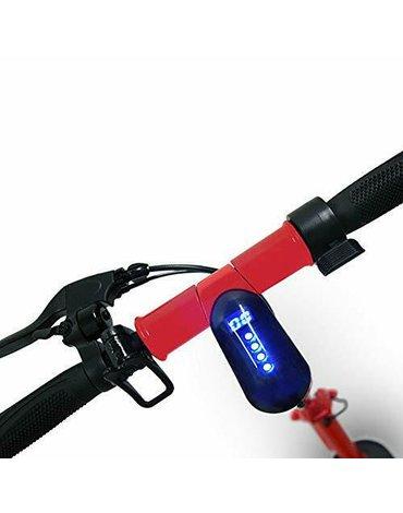 Hulajnoga elektryczna Fiat F500-F10R Czerwona